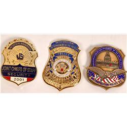 1993-2001 Inauguration Police Badges  [131049]