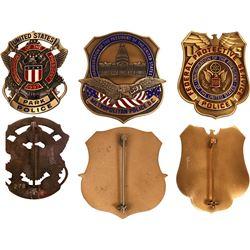 1989-97 Presidential Inauguration Badges  [131045]
