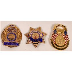 1993, 2001. Inaug. Police badges  [131050]