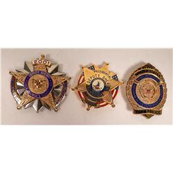 2001 President Inauguration Law Enforcement Badges   [131040]