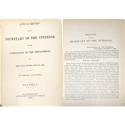 Department of the Interior Report of 1880  [131407]