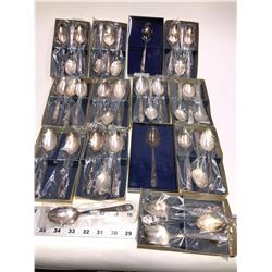 Silver Plate Presidents Spoon Collection (35)  [131349]