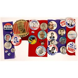 An Array of Campaign Badges & Buttons (20)  [131114]