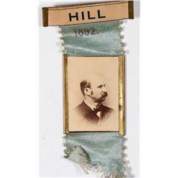 Campaign Photo Pin Back of David B. Hill  [131131]