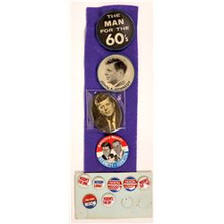 Kennedy/Nixon  Campaign Buttons (11)  [131095]