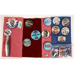 Political Campaign Buttons From the 1960's(13)  [131090]