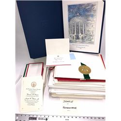 Presidential Christmas Card Collection  [131077]