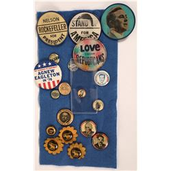 Various Presidential Campaign Buttons(19)  [131096]