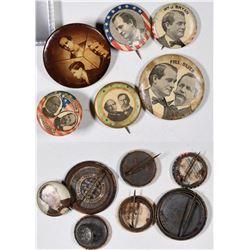 William Jennings Bryan Photo Buttons  [131092]