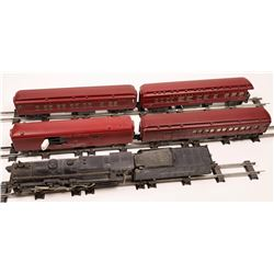American Flyer Steam Locomotive, Tender and 4 Cars  [133220]