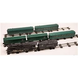 American Flyer Steam Locomotive, Tender and 5 Cars  [133221]