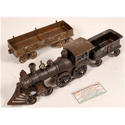 Cast Iron Locomotive and Gondola  [133027]