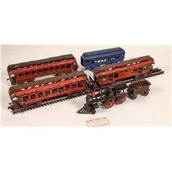 Cast Iron Locomotive, Tender, and 4 Cars  [133025]