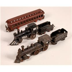 Cast Iron Locomotives with Tenders - 2  [133028]