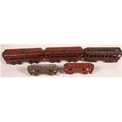 Cast Iron Passenger Cars   [133076]