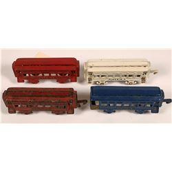 Cast Iron Passenger Cars - 4  [133073]