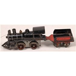 Cast Iron Steam Locomotive and Tender  [133081]