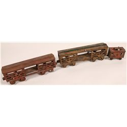 Cast Iron Train Cars - 3  [133068]