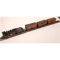 Ives Steam Loco, Tender and 3 Cars  [133214]