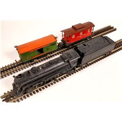 Lionel #224 Locomotive, Tender, and 2 Cars  [133004]