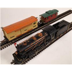 Lionel #262 Locomotive and 2 Cars  [133002]
