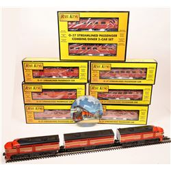 Lionel ALCO Diesel AA & B Unit and Rolling Stock 8 Cars.  [133222]