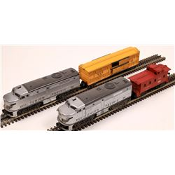 Lionel ALCO Diesel AA Unit and 2 Cars  [133166]
