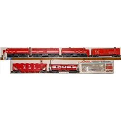 Lionel ALCO Diesel AA& B Unit with 3 Cars  [133184]