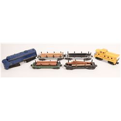 Lionel ALCO Diesel and 5 Cars  [133164]