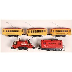Lionel Assorted Engines and Car - 5  [133142]