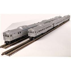 Lionel B&O Silver Passenger Cars - 6  [133109]