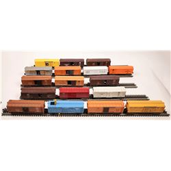 Lionel Box Car Rolling Stock 17 Cars  [133196]
