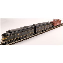 Lionel Erie ALCO Diesel AA Unit and Caboose  [133100]
