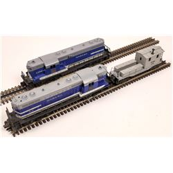 Lionel GP7 Diesel AA and 1 Car  [133160]