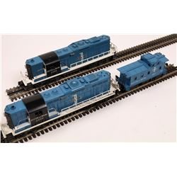 Lionel GP7 Diesel AA and 1 Car  [133162]
