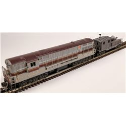 Lionel Lackawanna FM Train Master Diesel and 1 Car  [133129]