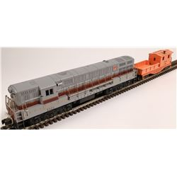 Lionel Lackawanna FM Train Master Diesel and 1 Car  [133131]