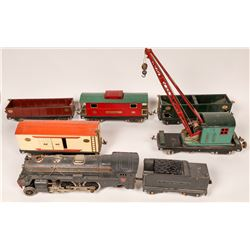 Lionel Locomotive, Tender and 5 Cars  [133080]