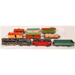 LionelStd Gauge Locomotive, Tender, 8 Cars  [133077]