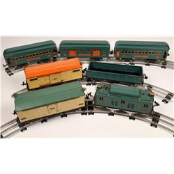 Lionel Polar Diesel and 6 Cars with Track and Transformer  [133177]