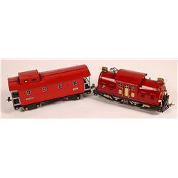 Lionel Polar Electric Locomotive and Caboose  [133032]