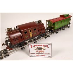 Lionel Polar Electric Locomotive and Caboose  [133038]