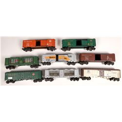 Lionel Rolling Stock 8 Box Cars  [133119]