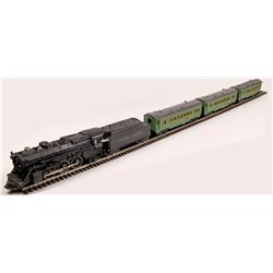 Lionel Steam Locomotive, Tender and 3 Cars  [133106]