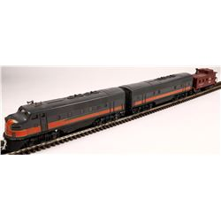 Lionel The Milwaukee Road F3 Diesel A&B Unit and Caboose  [133098]