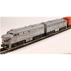 Lionel Union Pacific Alcoe Diesel AA Unit and 2 Cars  [133138]