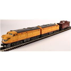 Lionel Union Pacific RR ALCO Diesel AA Unit and Caboose  [133102]