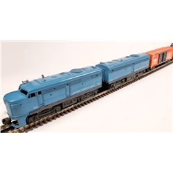 Lionel United States Navy Alcoe Diesel A&B Unit and 2 Cars  [133137]