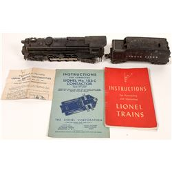 Lionel 671 Turbine Engine and Tender  [128046]