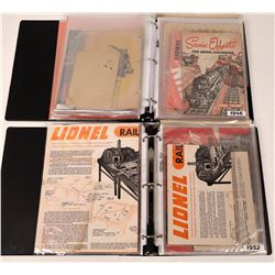 Lionel General Booklet Collection, c1932-1960s  [131755]